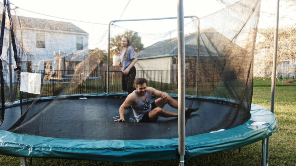 trampoline rectangulaire ou rond